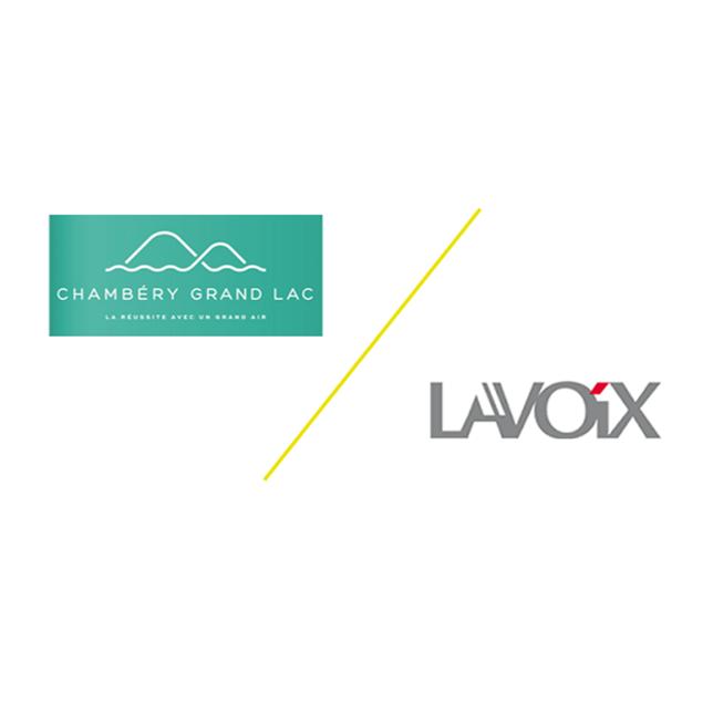 Nos clients Chambéry Grand Lac et LAVOIX à la une des médias