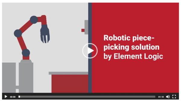 Découvrez la vidéo de présentation du bras de « picking » robotisé Element Logic (en anglais)