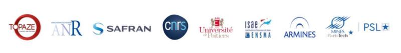 Les partenaires de MINES ParisTech pour la chaire ANR Topaze