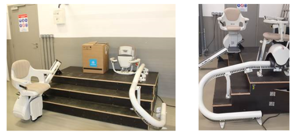 thyssenkrupp Home Solutions installe un « espace formation monte-escalier »