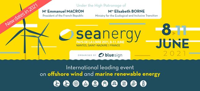 Report de la 5e édition de Seanergy du 8 au 11 juin 2021