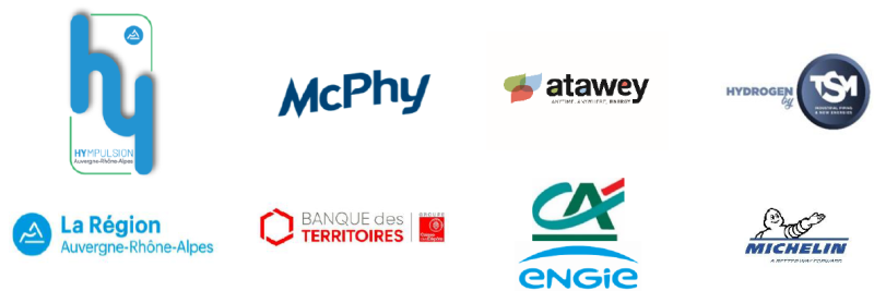 Les partenaires du groupement MAT (McPhy, Atawey, TSM)