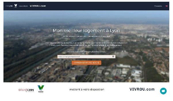 Vivrou, la solution d'accompagnement des salariés en mobilité de Lyon Vallée de la Chimie