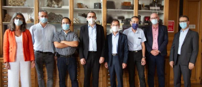 MINES ParisTech - PSL et ARMINES signent une convention avec SUBLIME Energie
