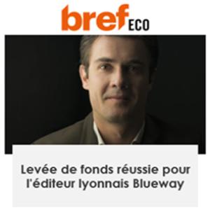 Découvrez l'article Blueway dans Bref Eco