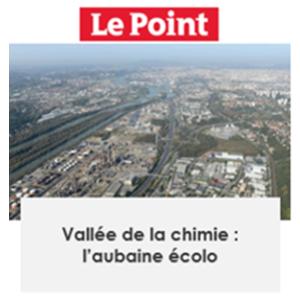 Découvrez l'article de la Vallée de la Chimie dans Le Point