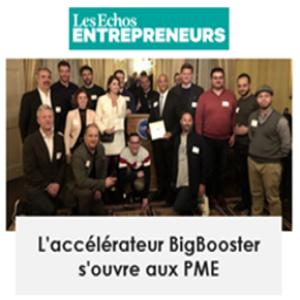 Découvrez l'article de BigBooster dans Les Echos Entrepreneurs