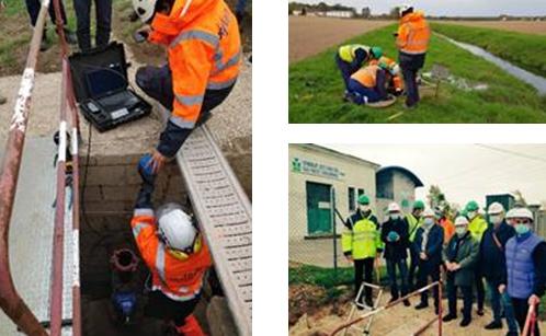 Saur utilise l'innovation SmartBall® pour inspecter en temps réel les canalisations du réseau du Syndicat Mixte des Eaux de Chalon Sud-Ouest
