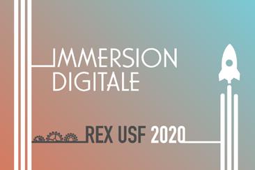 L'USF lance IMMERSION DIGITALE REX USF 2020