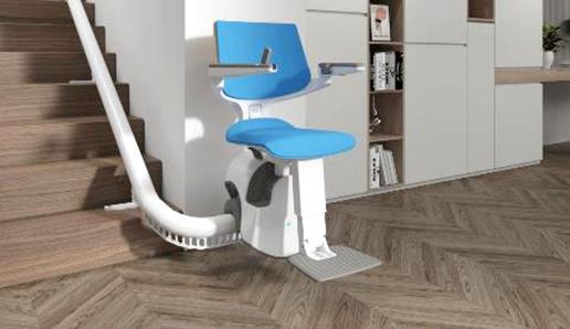 Un concentré d'innovations pour le monte-escalier S200 de thyssenkrupp Home Solutions
