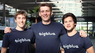 MINES ParisTech - Les 3 fondateurs de Bigblue William Meunier, Timothée Dumain et Mathias Griffe.