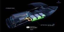 EODev équipe le premier navire de plaisance à propulsion électro-hydrogène