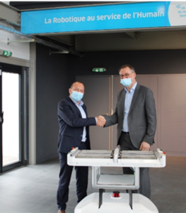 ENGIE Solutions et SHERPA MOBILE ROBOTICS signent un partenariat