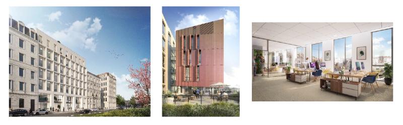 La Française Real Estate Managers lance la construction d'un immeuble de bureaux à Lyon