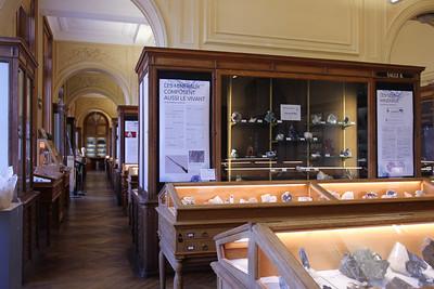 Le musée de Minéralogie de Mines Paris