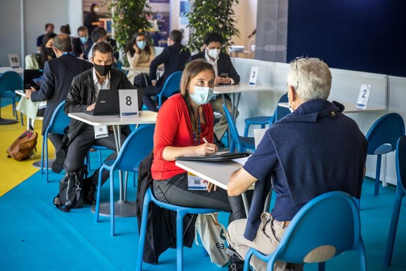 Seanergy se sont aussi des rendez-vous business B2B entre professionnels des énergies marines