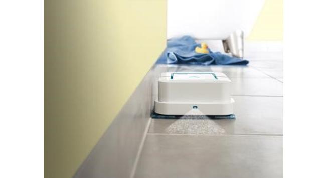 iRobot présente son nouveau robot laveur de sol : le Braava jet