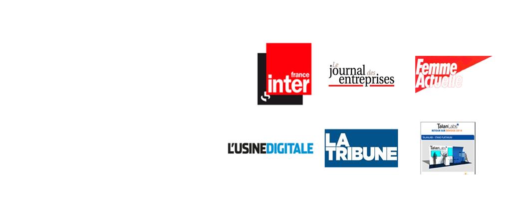 Nos clients à la Une des Médias
